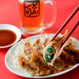 京の老舗の嗜好品で味付けした京風九条ねぎぎょうざ!