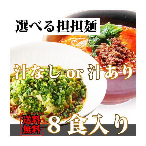 選べる坦々麺8食入り 送料無料01