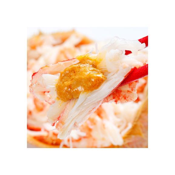 毛ガニ 北海道 雄武産(大型)420g前後×2尾 (北海道産 ボイル済み 最高級)甘い蟹身 濃厚な蟹味噌は絶品。ギフトに大好評、高評価ありがとうございます!02