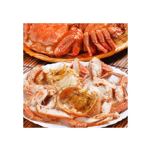 毛ガニ 北海道 雄武産(大型)420g前後×2尾 (北海道産 ボイル済み 最高級)甘い蟹身 濃厚な蟹味噌は絶品。ギフトに大好評、高評価ありがとうございます!03