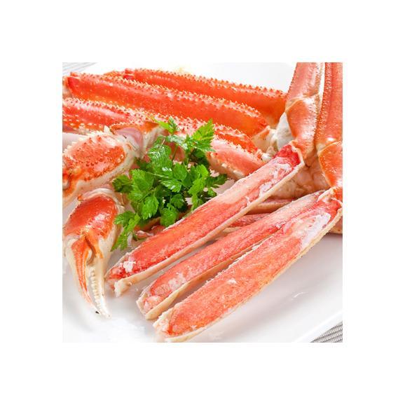 ズワイガニ 2kg(足 脚 特大)4L ズワイガニ 2kg 7肩前後×1箱(蟹足 蟹脚 北海道直送 最高級 ボイル済)甘く繊細な蟹身は絶品。高評価ありがとうございます!02