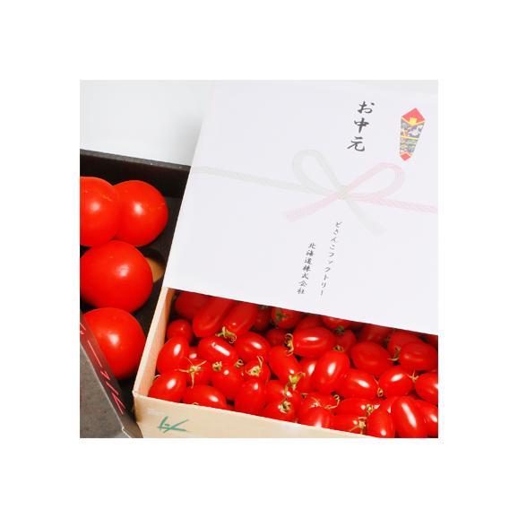 北海道産 トマト アイコ M 3kg (ミニトマト 秀品 北海道 JA東川町 完熟)ルビーの輝きの宝箱に感動。ギフトにも大好評、高評価ありがとうございます!03