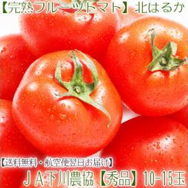 北海道産 北はるか 10-15玉(フルーツトマト 秀品 北海道 JA下川町 糖度8度)絶妙なバランス!ミニより大玉。ギフトにも大好評、高評価ありがとうございます!