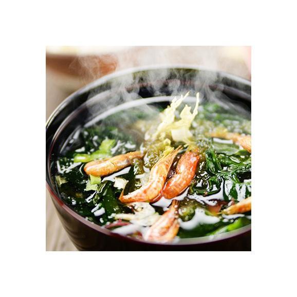海鮮汁の具 北海道産 昆布など 8種類 90g(昆布 わかめ 蟹風味 35杯前後)栄養豊富(そば うどん 鍋など高級汁物が簡単) 高評価ありがとうございます!02