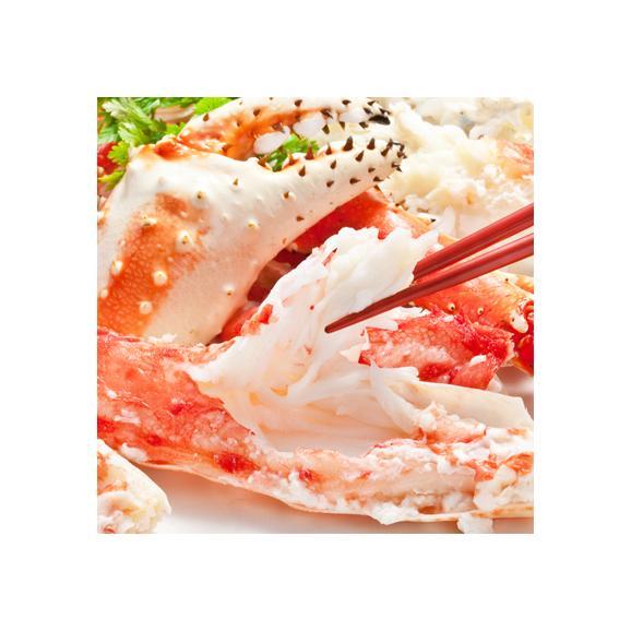タラバガニ 脚 足 特大 6L 2.4kg前後(1.2kg前後×2肩 最高級 北海道 ボイル済)ギッシリ詰まった蟹身は絶品。ギフトにも大好評、高評価ありがとうございます!02