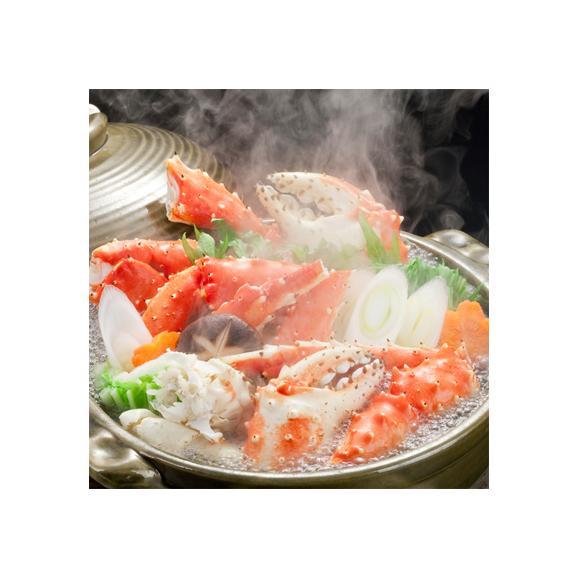 タラバガニ 脚 足 特大 6L 2.4kg前後(1.2kg前後×2肩 最高級 北海道 ボイル済)ギッシリ詰まった蟹身は絶品。ギフトにも大好評、高評価ありがとうございます!03