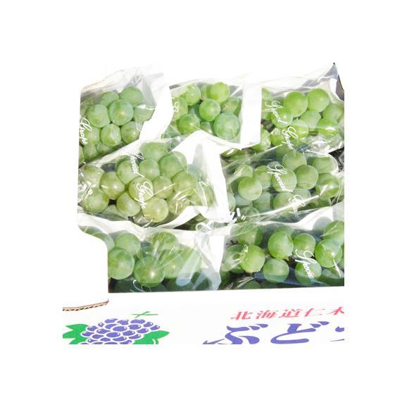 北海道 ぶどう 仁木産 ナイアガラ 2kg 8房前後(北海道産 ブドウ 秀品)気品漂う香り、マスカットより甘い。ギフトにも大好評、高評価ありがとうございます!03
