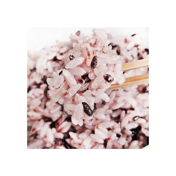 雑穀米 黒米 北海道産 きたのむらさき 185g (減農薬米 北海道米 上川産)栄養豊富で昔より重宝されたお米、高評価ありがとうございます! 02