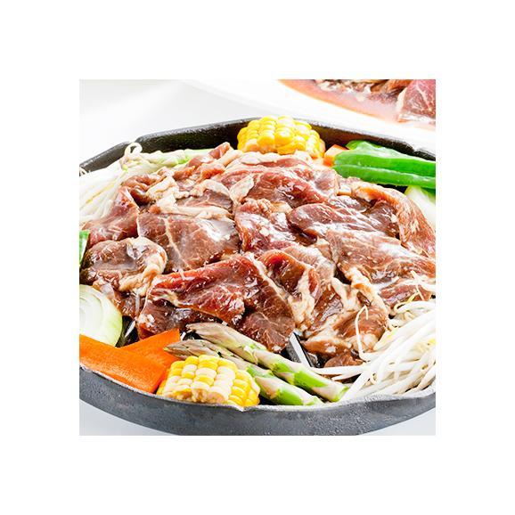ジンギスカン ラムジンギスカン 1kg(北海道 味付き 羊肉 最高級)【2kgで1kg、3kgで2kg オマケ】お中元 お歳暮 BBQにも大好評、高評価ありがとうございます!02