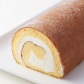 厳選された卵を使用した生地と生クリームの誰もが好きなふわふわロールケーキ