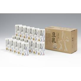 島根県産 地場大豆を使用し、生搾り製法でつくられた特別な豆乳です。
