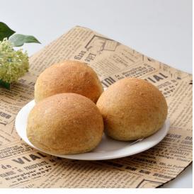からだにやさしい 全粒粉100%丸パン 6個入り