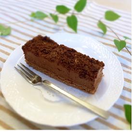 糖質を抑えた口溶けなめらかガトーショコラ