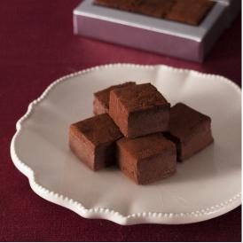 糖質オフスイーツ 口溶け柔らかな生チョコレート 12個入り