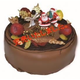 完売いたしました。【糖質90%OFF】2018クリスマスケーキ フランボワーズショコラ 4号 12cm