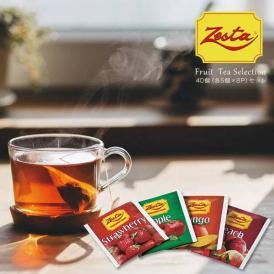 紅茶 ゼスタ フルーツセレクション 40個(5個×8P)セット[メール便]【3~4営業日以内に出荷】