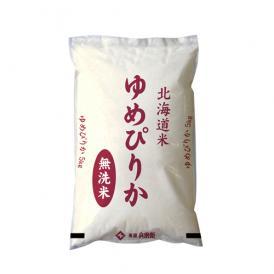 [令和元年産]北海道産 ゆめぴりか無洗米30kg[5kg×6]30kg1配送でお届け【送料無料】