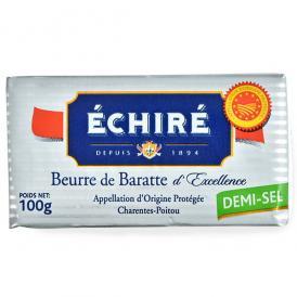 エシレ[ECHIRE]フランス産 有塩バター100g[冷蔵/冷凍]【2~3営業日以内に出荷】