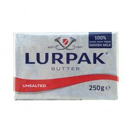 デンマーク産ルアーパックバター 無塩 250g[冷蔵/冷凍可]【3~4営業日以内に出荷】