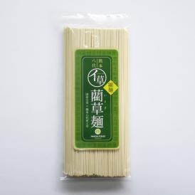 もちもち食感のこだわり手延べ 藺草麺 細麺【160g】