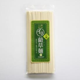 もちもち食感のこだわり手延べ 藺草麺 太麺【160g】