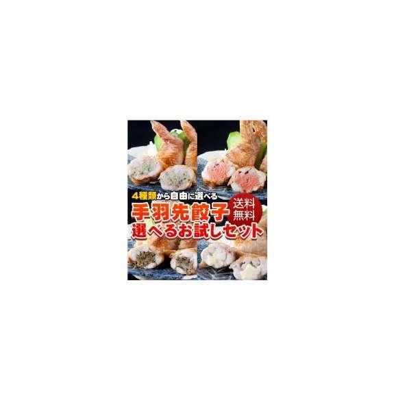 送料無料!手羽先餃子選べるお試しセット(5本×5P)25本【手羽先餃子】01