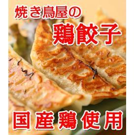 【餃子】鳥餃子 焼き鳥屋のこだわり鶏餃子 1パック(約500g 1個約28g)約18個~19個 大ぶりの餃子になります 【訳あり】【焼くだけ】