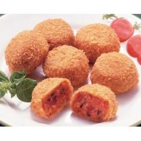完熟トマトのひとくちコロッケ 28g×30個 冷凍でお届け【コロッケ】(nh321123)