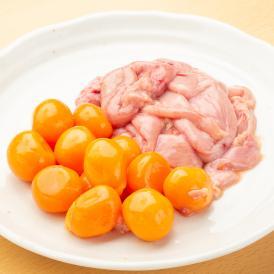 たまみち(玉道、卵巣) 2kg(1パックでの発送)(親鶏)(国産) タマミチはまだ生み出されていない卵と卵管です。