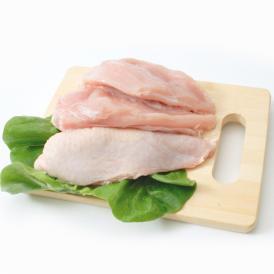 桜姫 むね肉 2kg (宮崎県産) (im)透明感のある桜色で、鶏独特の臭みが少なく、一般の鶏肉に比べてビタミンEが3倍以上