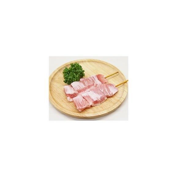 豚トロ串 40g×10本 外国産豚 (15cm丸串)(pr)(46520)(やきとん)01