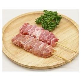 鳥せせり串 40g×20本 焼き鳥 国産鶏 (15cm丸串)(pr)(42520)(焼鳥 やきとり)