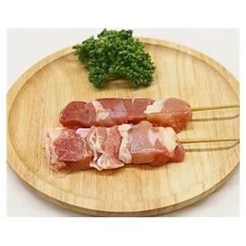 鳥もも串 40g×20本 焼き鳥 国産鶏 (15cm丸串)(pr)(40121)(焼鳥 やきとり)