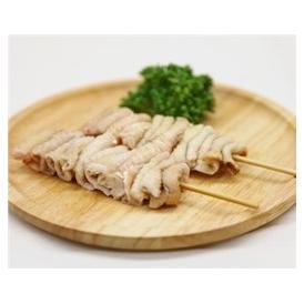 鳥皮串 40g×20本 焼き鳥 国産鶏 (15cm丸串)(pr)(41620)(焼鳥 やきとり)