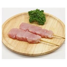鳥ササミ串 40g×20本 焼き鳥 国産鶏 (15cm丸串)(pr)(41920)(焼鳥 やきとり)