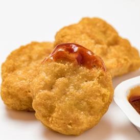 つくば鶏 チキンナゲット 約20g×50個 1kg (ni)軽く揚げるだけの簡単調理【鶏肉】【鳥肉】【茨城県産】【銘柄鶏肉】