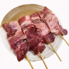 外国産の牛肉を使った串打ち加工品で、人気の商品です。
