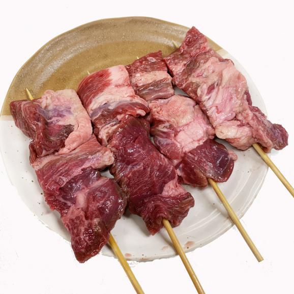 牛タン串 40g×10本 外国産(アメリカ産牛肉) (15cm丸串)(pr)(49230)【牛肉串】01