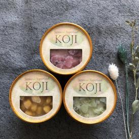 """ギフトセット 生甘酒シャーベットJapanese Superfood""""KOJI""""FROZEN 1セット(6個入り)"""