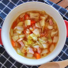 お野菜たっぷりの食べるスープ 美意識高い女性必見