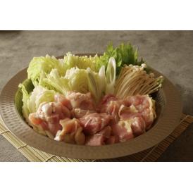 徳島県のブランド地鶏「阿波尾鶏」を使った水炊き 木頭柚子を使用した特製ポン酢が絶品です