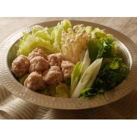 徳島県のブランド豚「阿波匠豚」を使ったつみれが入った水炊きセット 木頭柚子を使用した特製ポン付き