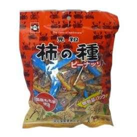 【柿ピー】元祖浪花屋の柿の種テトラパック 浪花屋製菓 柿の種