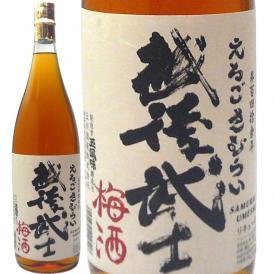 越後武士(さむらい)梅酒 南高梅1.8L 玉川酒造
