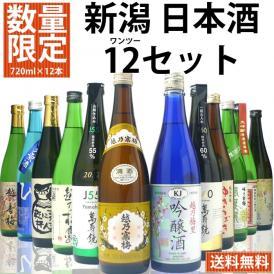 [数量限定]日本酒 あれもこれも入った 12[ワンツー]セット720ml×12本