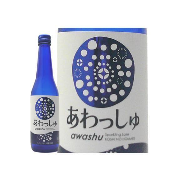 発泡性純米酒 あわっしゅ320ml 越の誉 原酒造02