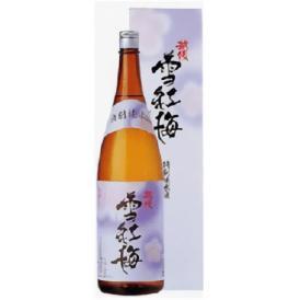 越後雪紅梅 特別純米酒 1800ml