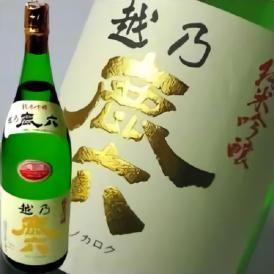 越乃鹿六(かろく)純米吟醸 1.8L 近藤酒造