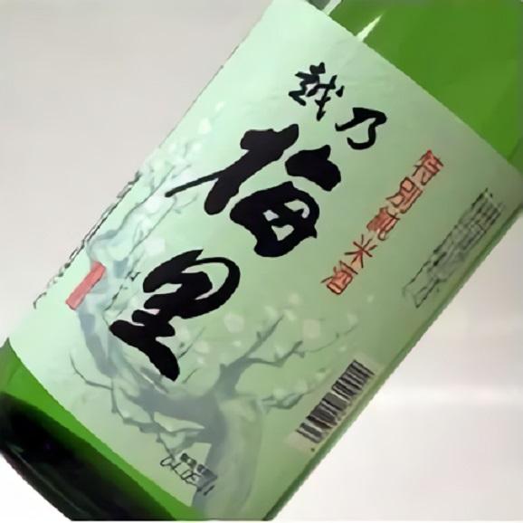 越乃梅里 特別純米酒 1.8L×6本01