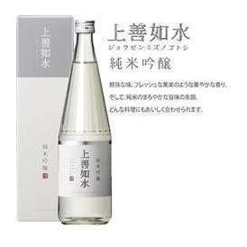 「上善如水(じょうぜんみずのごとし)」 純米吟醸 1.8L